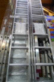 Leitern aus Aluminium ALU von Krause und Hailo