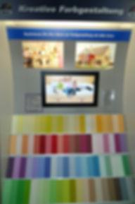 Kreative Farbgestaltung von Duefa und Profitec