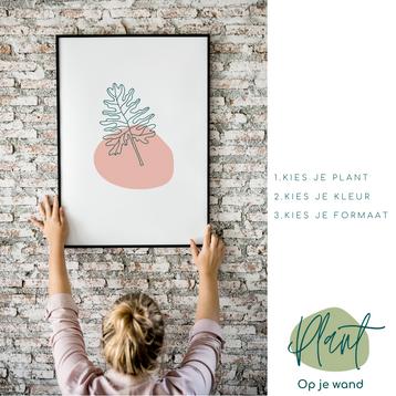Plant-op-je-wand