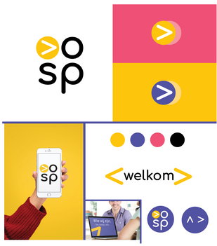 Logo en huisstijl ontwikkeling VOORSPRONG