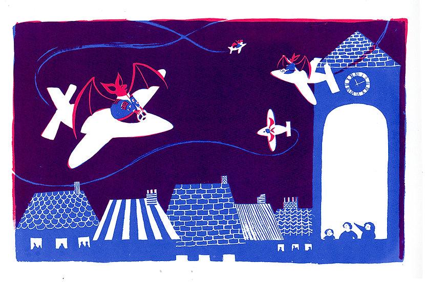 Bats (Cherry Moon)