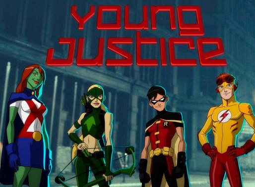 DC FanDome    4ª temporada de Young Justice é confirmada