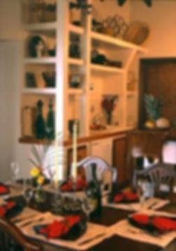 Dining Room Villa Catalina