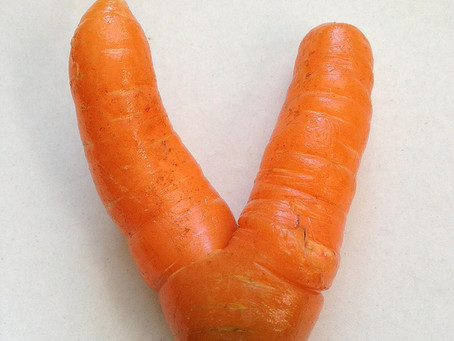 "The Alphabet of ""Ugly"" Fruit and Veg."