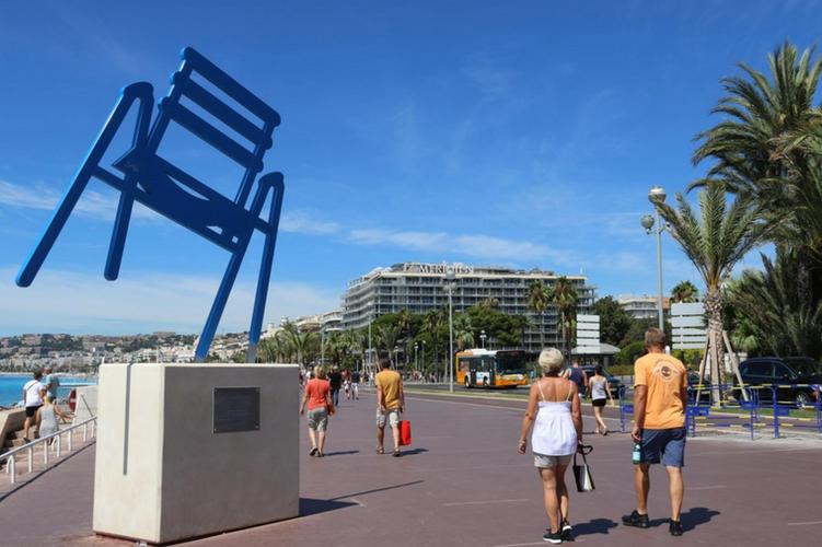 3. Chaise bleue, Sabine Geraudie, 2014.p