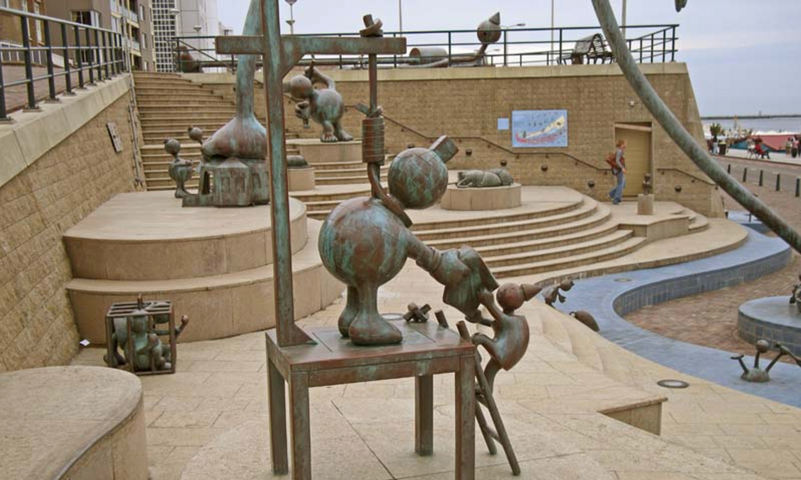 7. Beeldentuin, Tom Otterness, Museum Ba