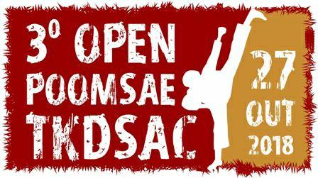 3º Open Poomsae TKDSAC 2018