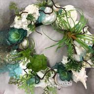 Table top centerpiece wreath