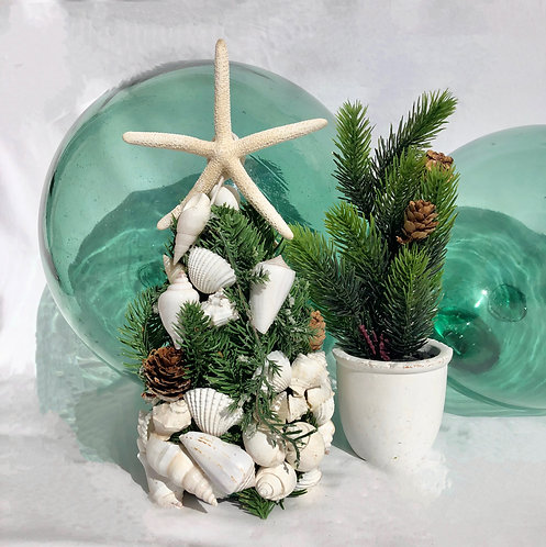 Evergreen Tree Topper / Table Top Decor