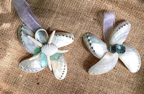 Abalone Donkey Ear Ornament