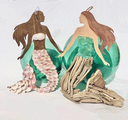 Mermaid Figurine Wall Decoration