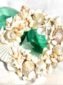 creamy white wreath