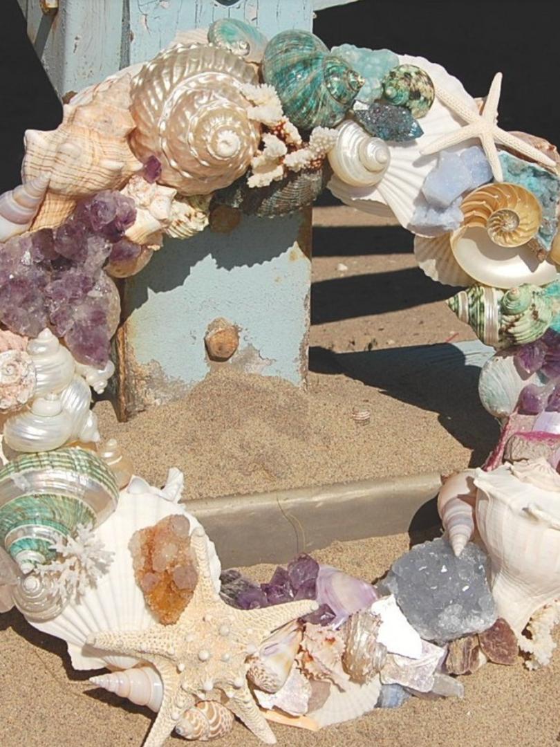 Crystals and seashells