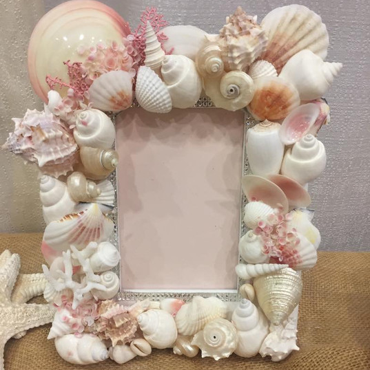 Pink frame with a touch of dazzlement