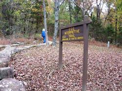 Hhiking CCC Trail