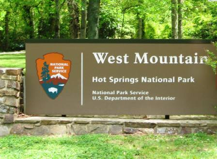 West mountain sign