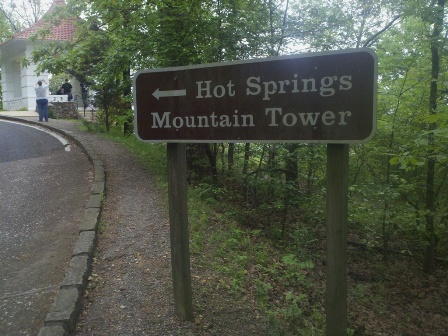 Mountain Tower Sign