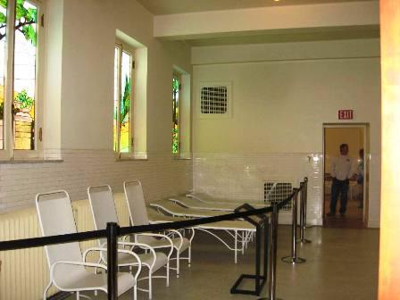 Bathhouse interior