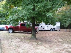 Campers in Horse Camp