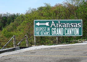 Arkansas Grand Canyon Sign.JPG