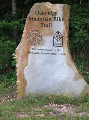 Trailhead for Mountain Biking