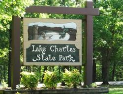 Lake Charles Entrance Sign