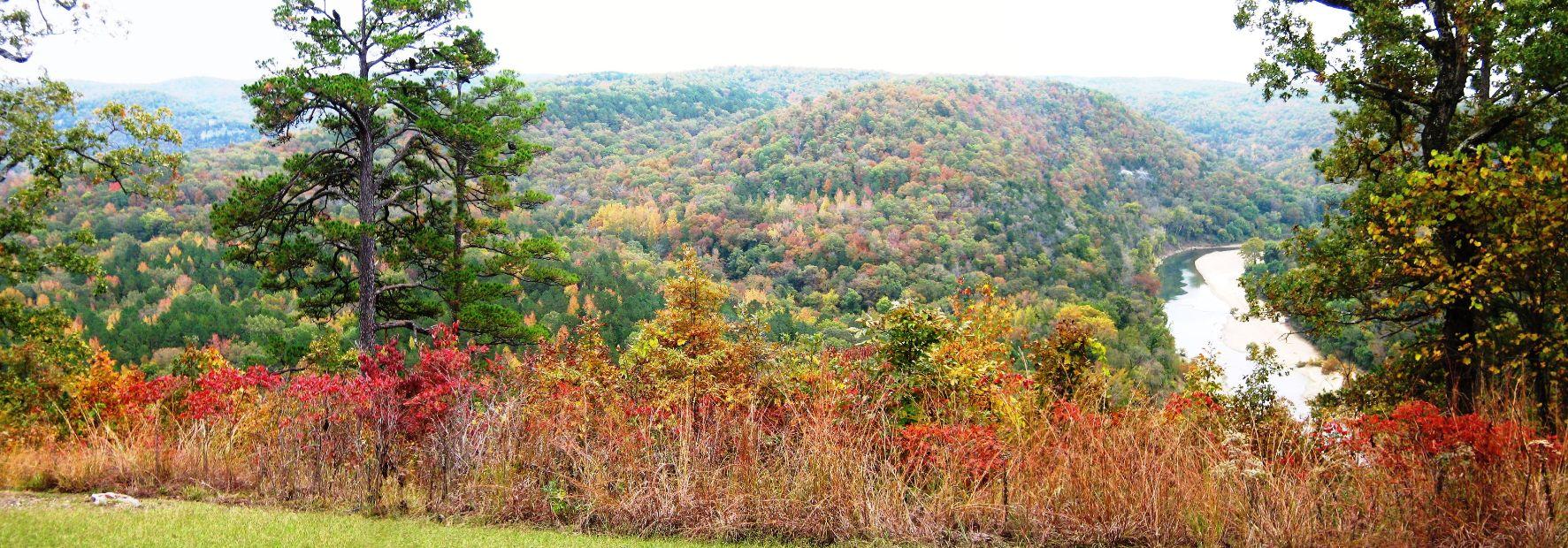 Fall at Buffalo River