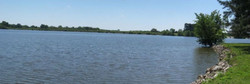 Dam for Lake Charles