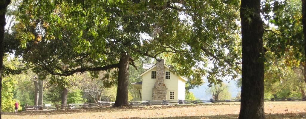 Borden House where Battle Was Fought