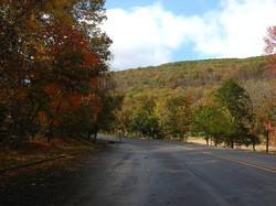 Fall color at Divil's Den