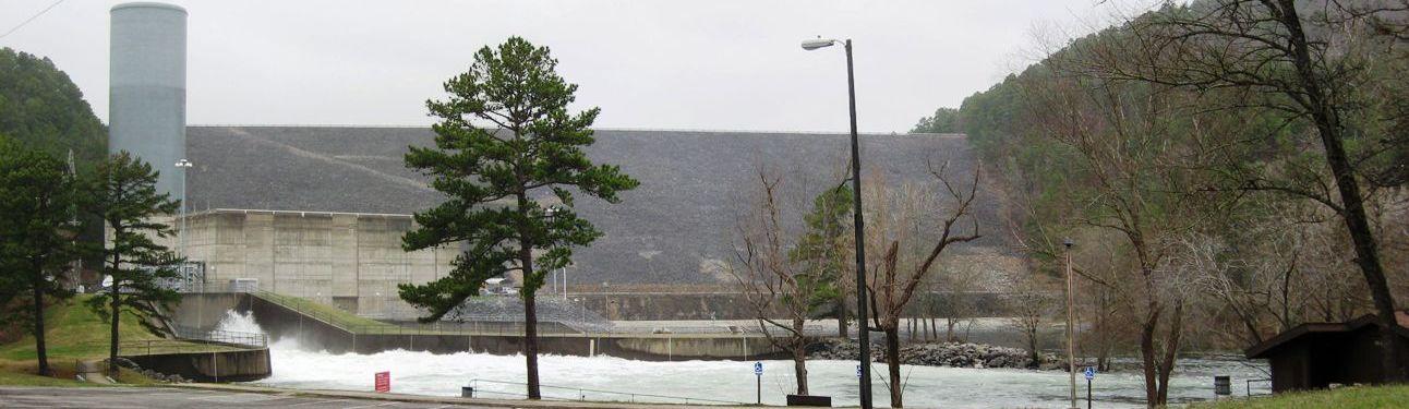 Lake Ouachita Dam