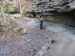 Dick on Narrow Trail