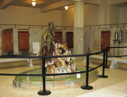 Bathhouse statue