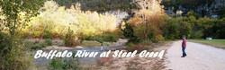 Pan of Buffalo River
