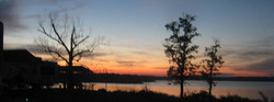 Sunset at Oakland Campgrounds