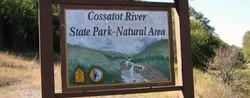Cossatot River State Park Entrance