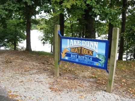 Lake Dunn Sign