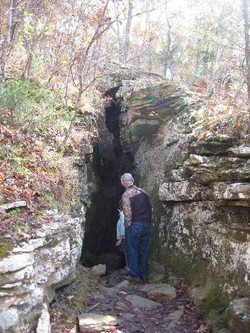 Cave in Rocks