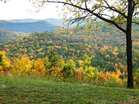 Fall colors at Buffalo River