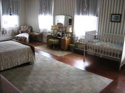 Master Bedroom and crib