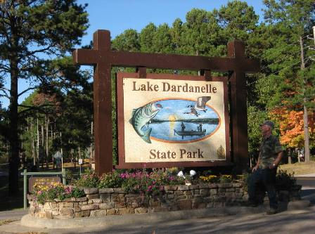 Lake Dardanelle Sign