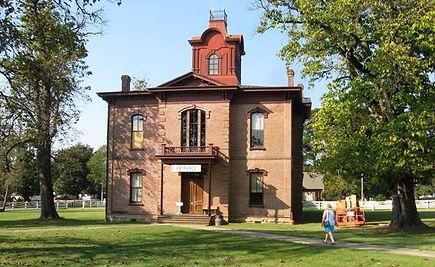 Courthouse staring i 1874