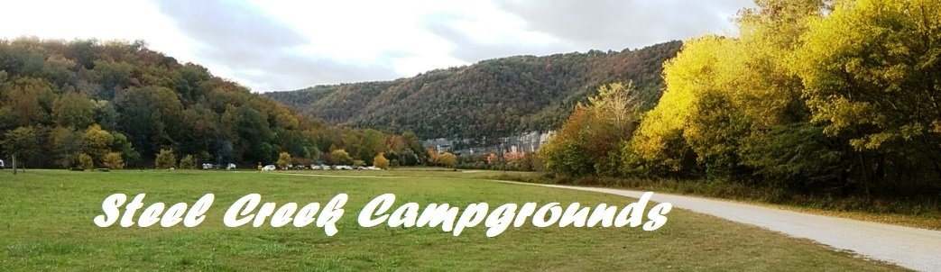 Pan of Steel Creek Campgrounds