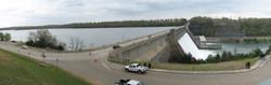Bull Shoals Dam-Flood Gates Open