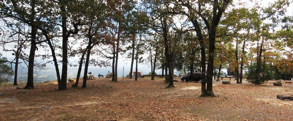 Pan of Campgrounds