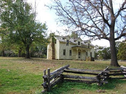 Front View of Borden House