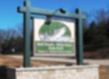 Sign at Gaston Visitor Center
