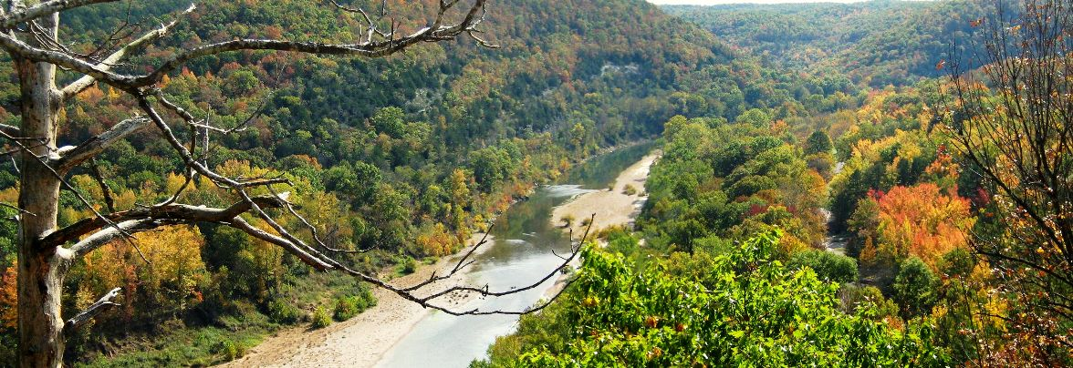 Buffalo River from Overlook