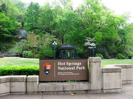 Hot Springs Park Downtown