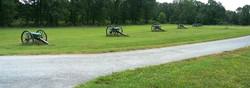 Canons on Battlefield